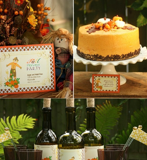 Hgtv Thanksgiving Decorations: Fall Harvest Party For Your Thanksgiving Celebrations