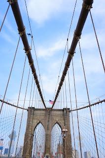 Le Chameau Bleu -  Promenade sur les ponts de New York - USA
