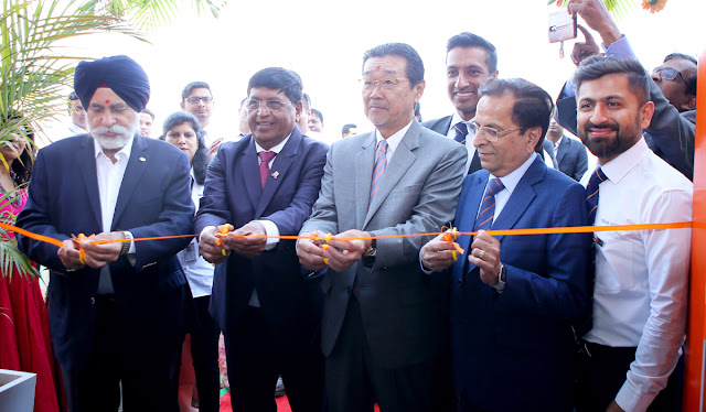 Tata Hitachi consolidation inaugurated new office in Time Equipment
