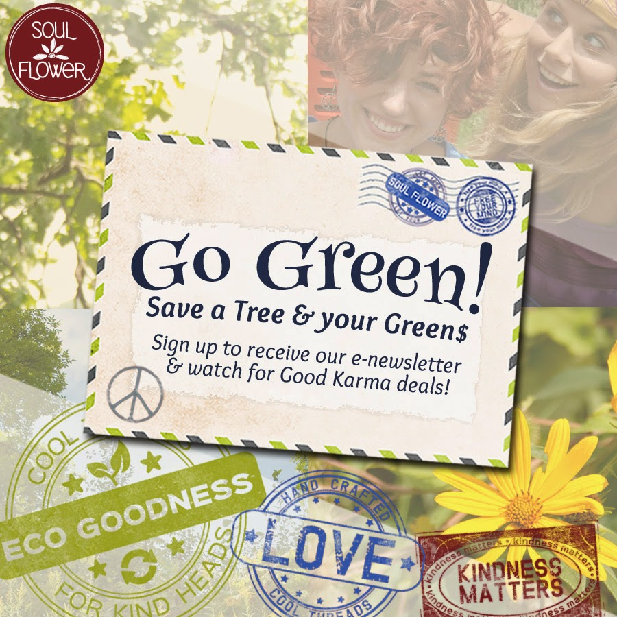 Soul+Flower+Email+Sign+Up - Go Green: Sign up & Save the Trees