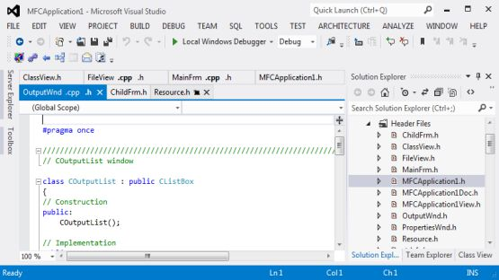 Visual Studio 2012 screenshot 4