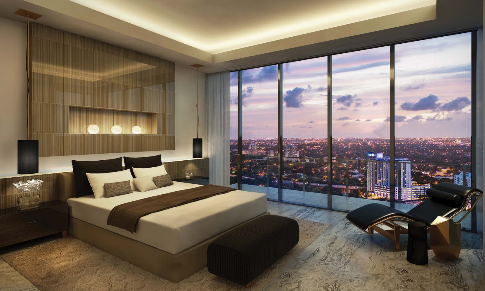 Không gian nghỉ dưỡng dự án Luxury Apartment