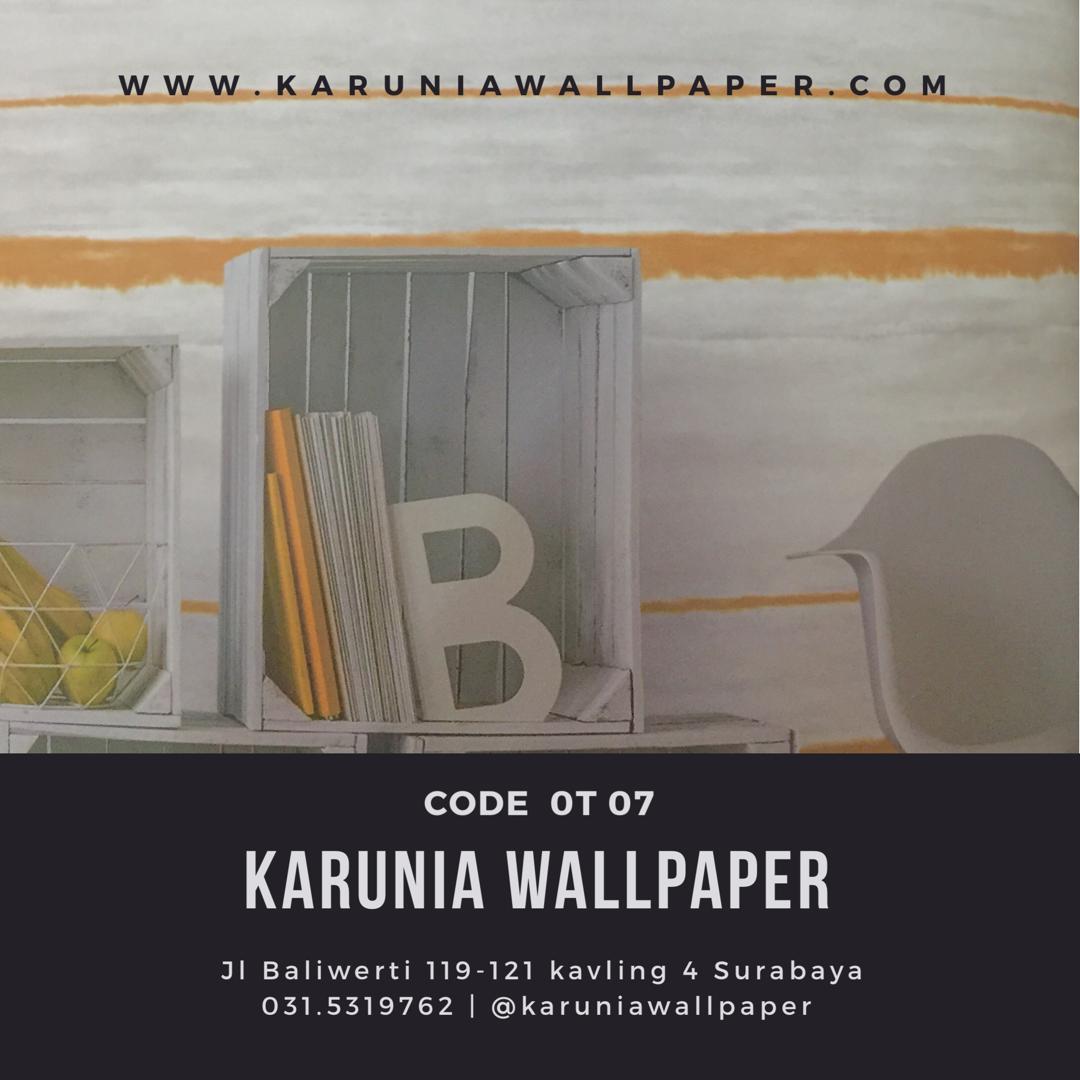 jual wallpaper dinding kuning