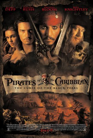 Pirates of the Caribbean: The Curse of the Black Pearl 2003 BRRip 720p Dual Audio