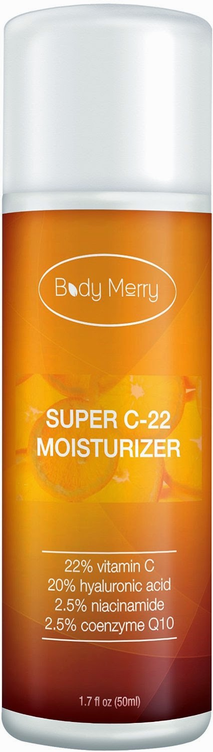 beauty, face, skin, skin care, aging, vitamin C, Body Merry, moisturizer, natural, #bodymerry