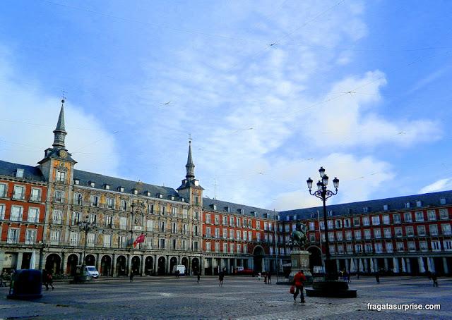 Madri, Espanha, Plaza Mayor