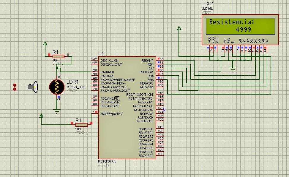 Circuito Ldr : Electronica y telecomunicaciones sensor de luz ldr