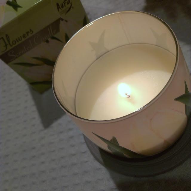 świece bispol, recenzja, bispol,świeca o zapachu kwiatów, scandles flowers bispol