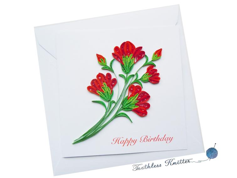 Red Carnations / Czerwone Goździki