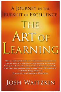 كتاب فن التعلم the art of learning