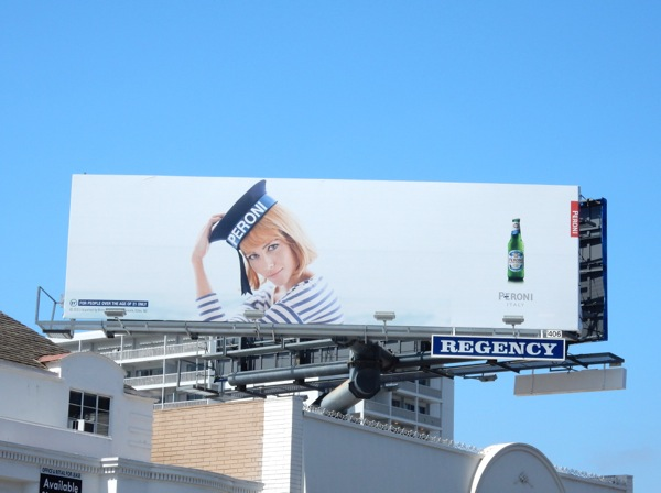 Natalia Borges Peroni Sailor Girl billboard