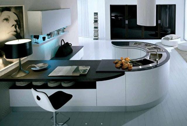 Modular Kitchen ideas: Space saving Kitchens design, Creative Ideas, space saving furniture, Modern Kitchen ideas, Kitchen design Photo, Home Kitchen ideas, home decorating ideas, kitchen design, modular kitchen, Types of modular kitchens