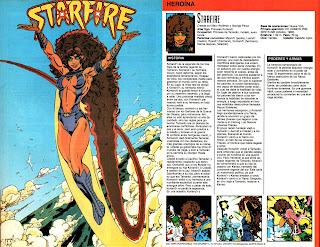 Starfire (ficha dc comics)