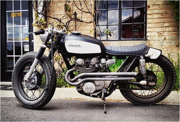1970 honda cl450 cafe racer - way2speed performance