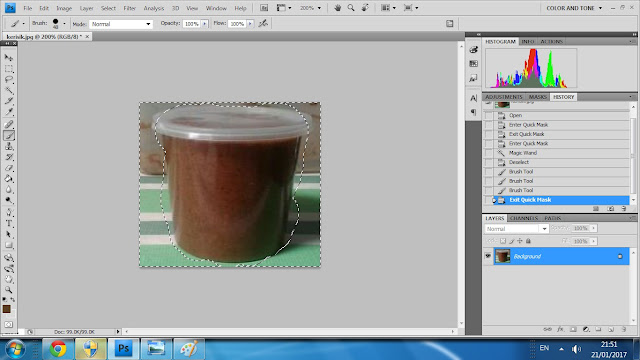 "Tutorial ""crop"" gambar guna Adobe Photoshop"