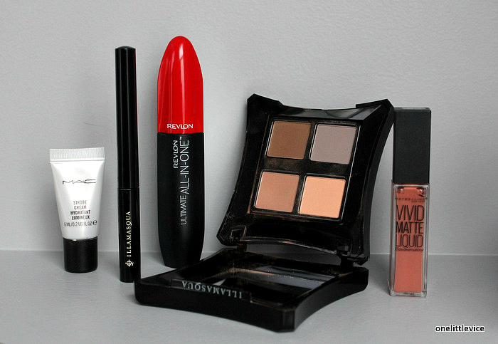 one little vice beauty blog: illamasqua, mac, revlon, maybelline