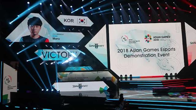 Asian Games 2018 Starcraft II