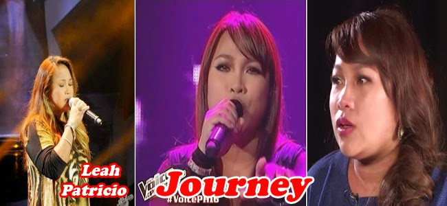 Top 4 Leah Patricio Journey to The Voice of the Philippines Season 2