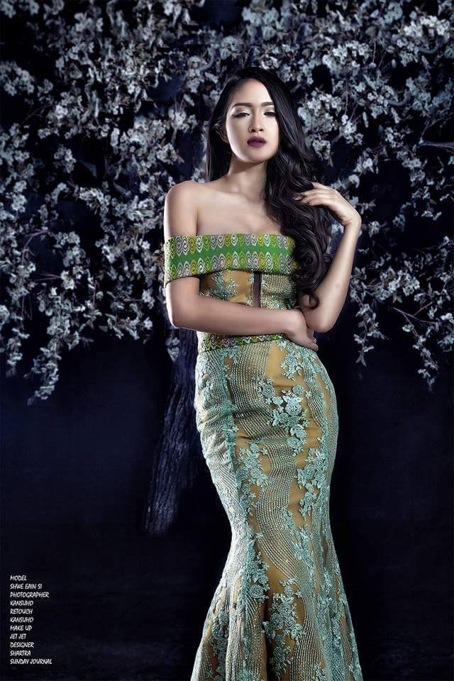 Shwe Eain Si Sunday Journal Cover Photoshoot
