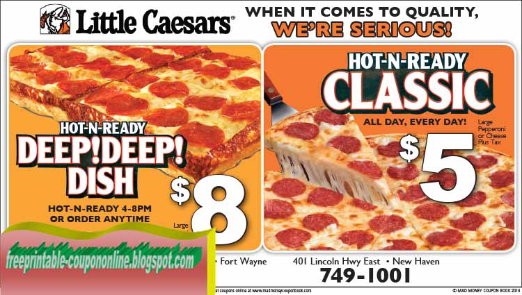 Little caesars coupons