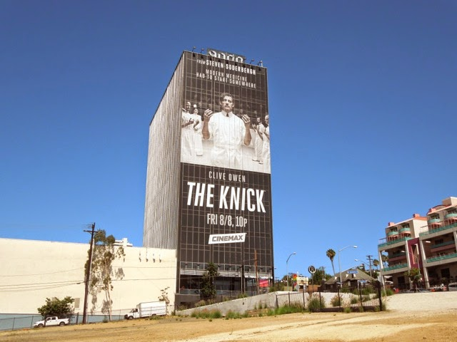 Giant The Knick season 1 billboard