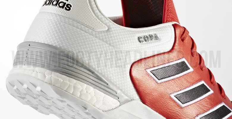 new style c1c52 5d293 Featuring a partial Boost midsole, the Adidas Copa Tango 17 indoor and turf  football shoes were released on November 16, 2016.