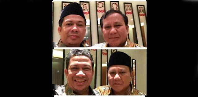 Prabowo Ke Fahri: Coba Jepret Sekali Lagi