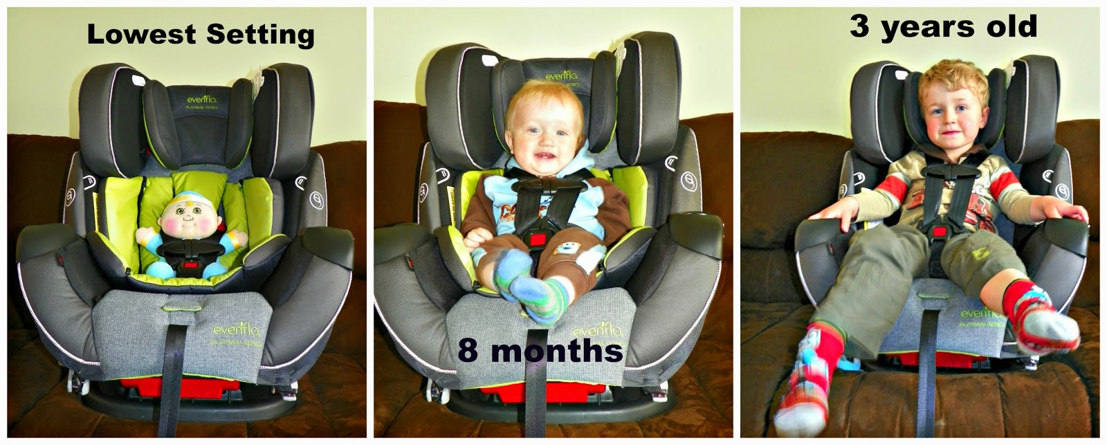Evenflo Symphony Dlx Platinum All In One Car Seat Review