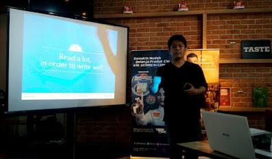 Tips Menang Lomba Blog Ala Haya Zaki dan Membuat Content Marketing Bersama CNI