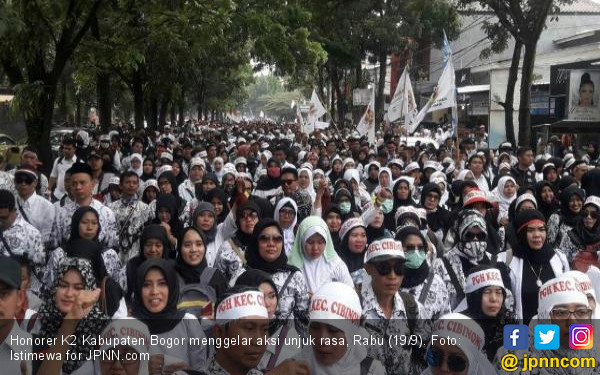 Prabowo: Tunda Rekrutmen CPNS 2018, Tuntaskan Honorer K2