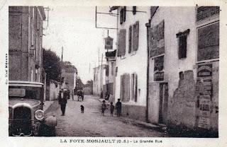 La vie au village avant 1950