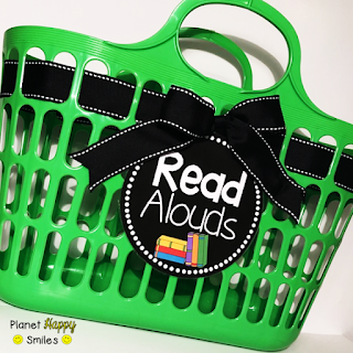 Planet Happy Smiles, Read Alouds Basket