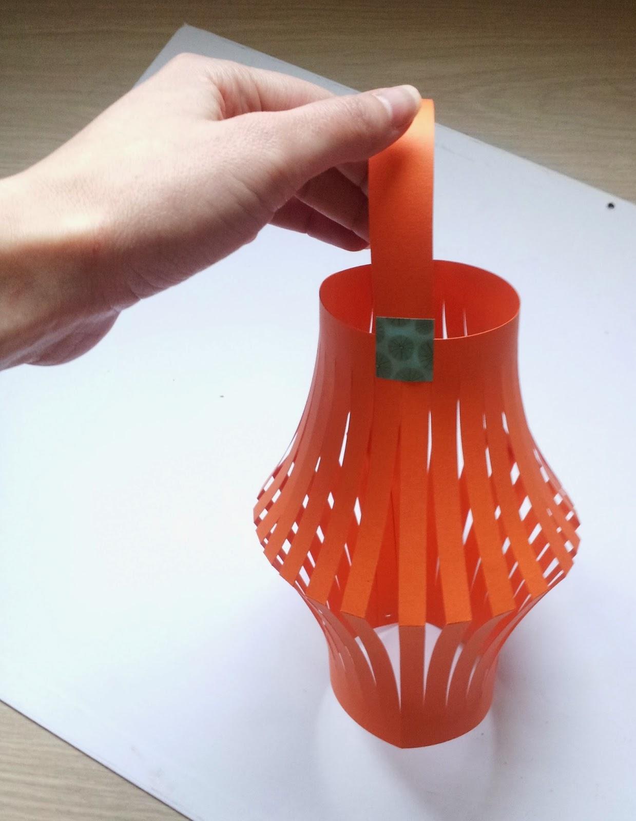 DIY Lanterne chinoise