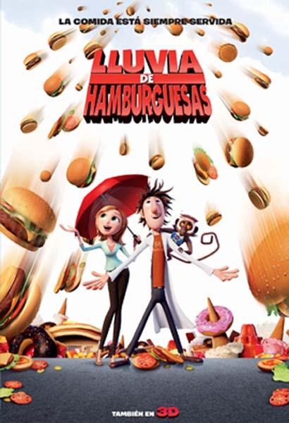 Lluvia de Hamburguesas (2009) Película Completa HD 1080p [MEGA] [LATINO]