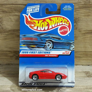 HOT WHEELS FERRARI 360 MODENA RED 1999 FIRST EDITIONS 21 OF 26 CARS
