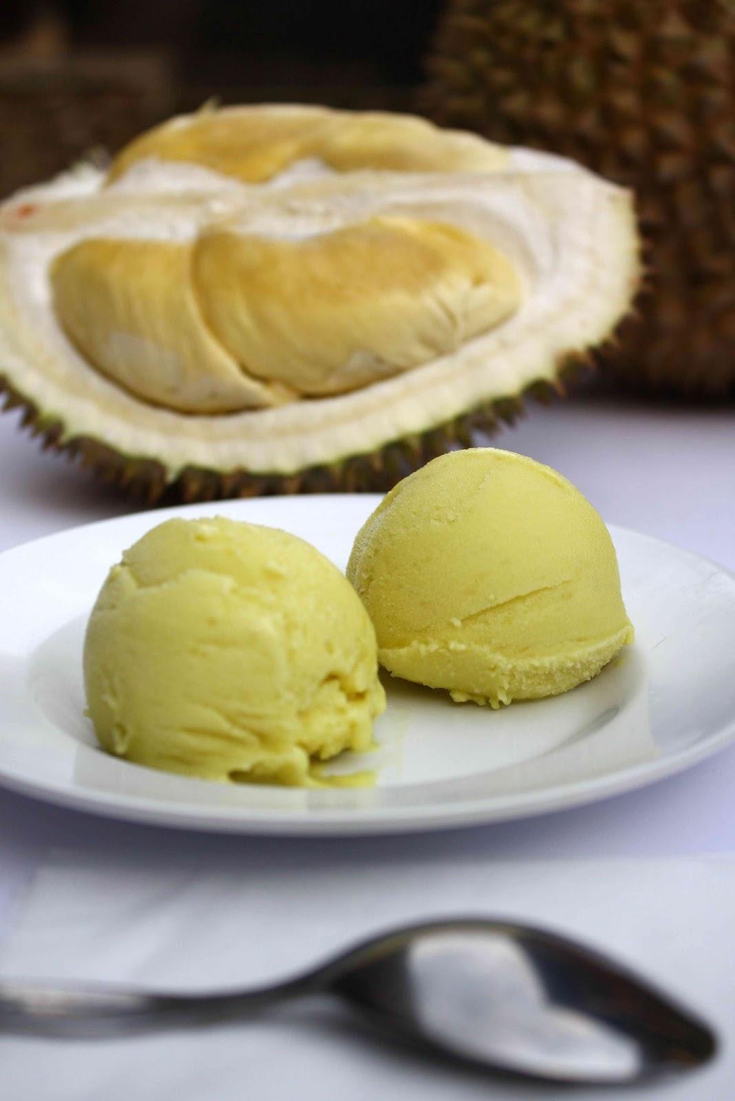 Durian Ice Cream Cake