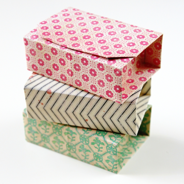 Rectangular Diy Origami Boxes