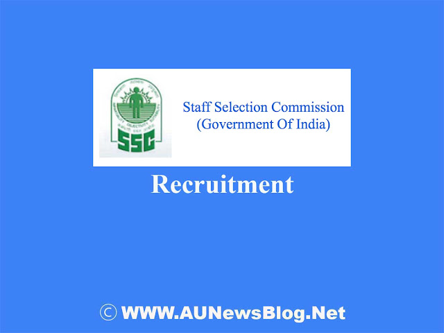 SSC CHSL Recruitment 2018