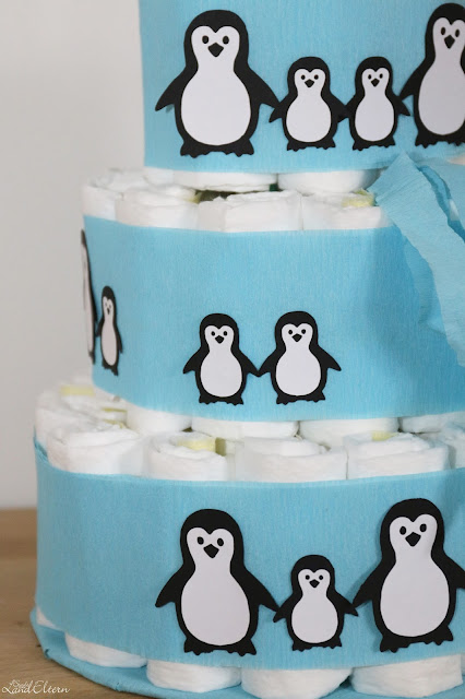 DIY - Windeltorte - Pinguine