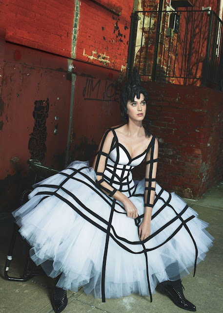 Katy Perry for Vogue May 2017 - Comme des Garcons