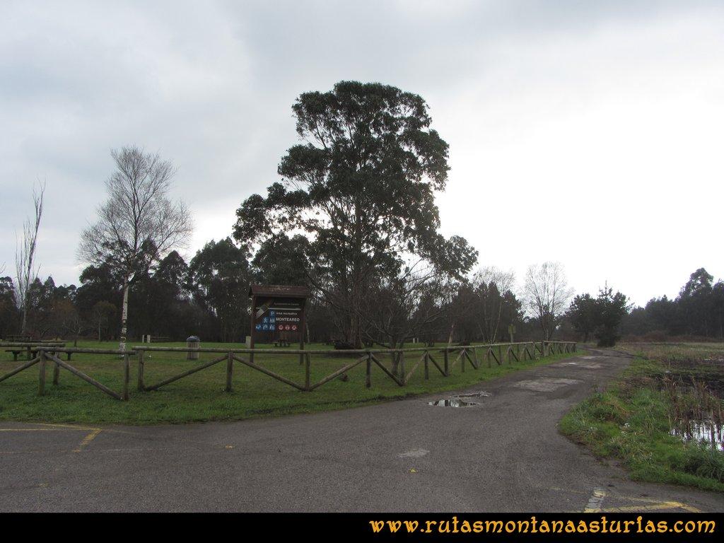 Ruta de los Dólmenes y Monte Areo: Area de Monteareo