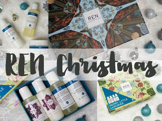 REN Christmas gifting - Atlantic Kelp and Magnesium and Moroccan Rose