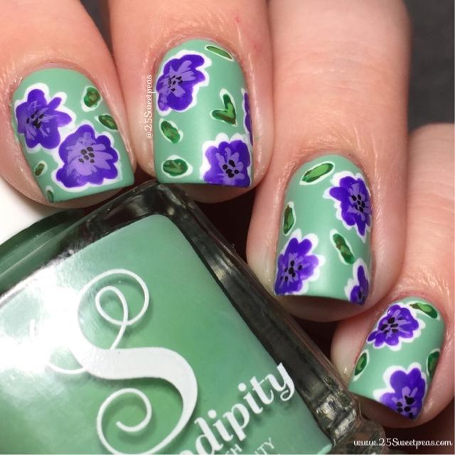 12 creativas ideas abstractas del arte del las uñas | Uñas pintadas ...
