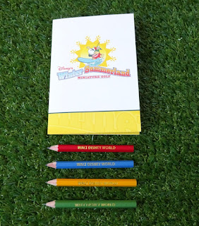 Disney's Winter Summerland Miniature Golf. Scorecard and pencils from Shelley Barrett