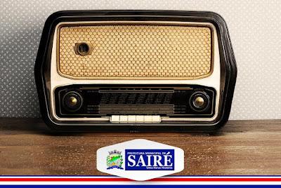 Prefeitura de Sairé lança programa semanal de rádio