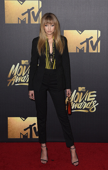 Gigi Hadid Red Carpet 2016 MTV Movie Awards