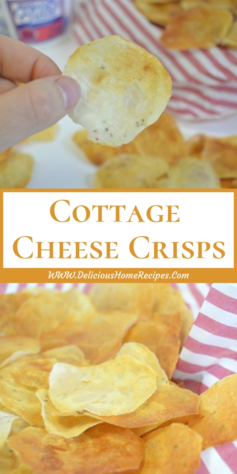 Cottage Cheese Crisps