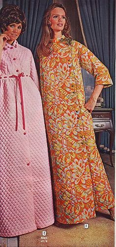 70s dressing gown