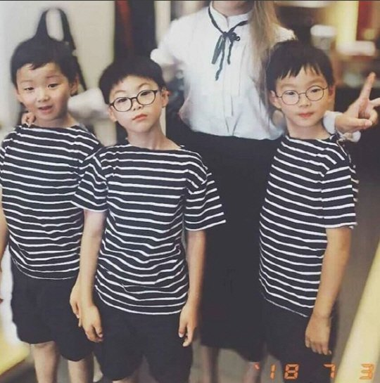 Song Il Guk's 'Superman' triplets show speedy growth
