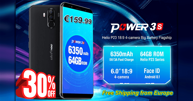 Ulefone Power 3S - Sale